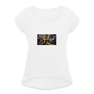 Paddy Saunders - Women's T-shirt with rolled up sleeves