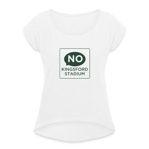 NKS Logo - Women's T-Shirt with rolled up sleeves
