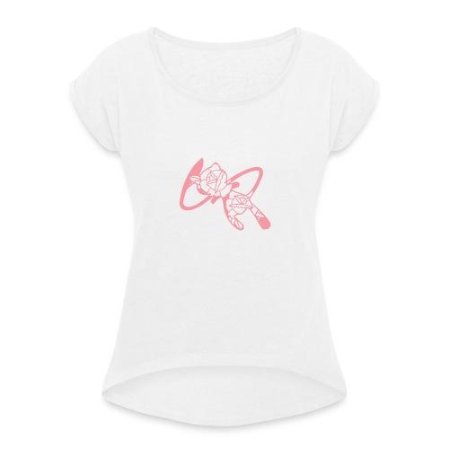 Mew - T-shirt à manches retroussées Femme