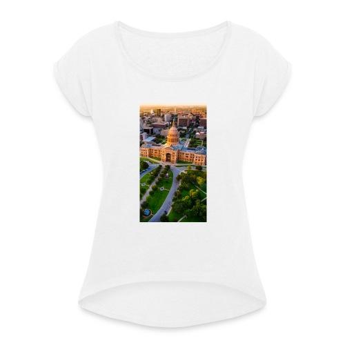 Citta - Maglietta da donna con risvolti