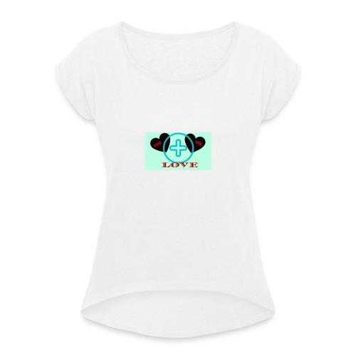 Immagine1 - Maglietta da donna con risvolti
