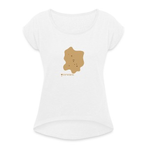 Baby bodysuit with Baby Poo - Women's T-shirt with rolled up sleeves