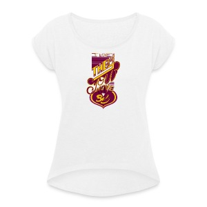 Love the way you move baby color - T-shirt à manches retroussées Femme