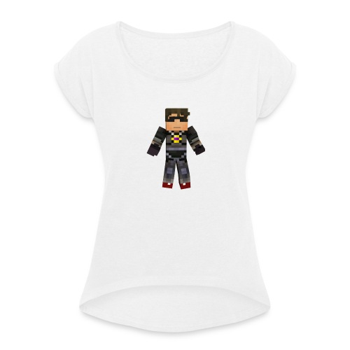 Carcasa Para Celular SM S4 - Camiseta con manga enrollada mujer