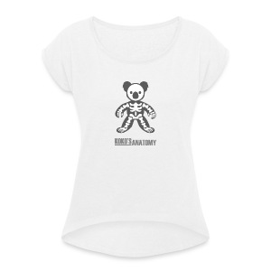 Koko anatomy - Women's T-shirt with rolled up sleeves