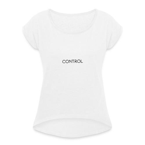 Control - Frauen T-Shirt mit gerollten Ärmeln