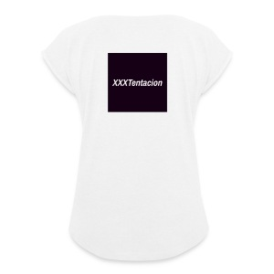 XXXTentacion T-Shirt - Women's T-shirt with rolled up sleeves