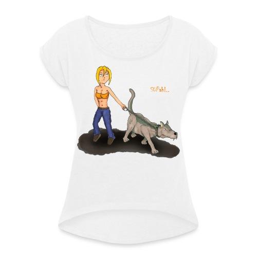 DogZwatch 2 - T-shirt à manches retroussées Femme