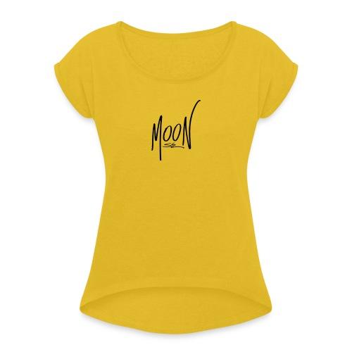MoonSG Classic - Maglietta da donna con risvolti