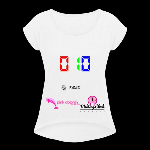 0b10 EP by Ramz - Women's T-Shirt with rolled up sleeves