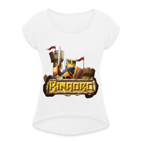 4000x4000 png - T-shirt à manches retroussées Femme