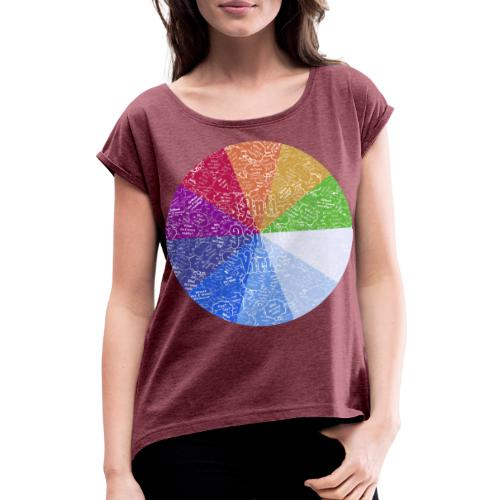 APV 10.1 - Women's T-Shirt with rolled up sleeves