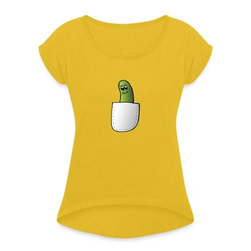 Pocket Pickle #2 - Maglietta da donna con risvolti