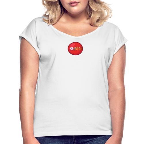 G ONE RADIO - T-shirt à manches retroussées Femme