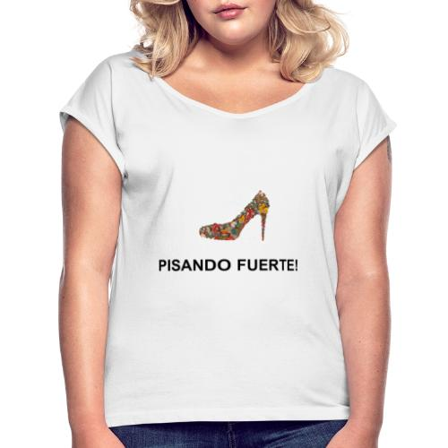 VINTAGE - ZAPATO TACÓN PISANDO FUERTE - Camiseta con manga enrollada mujer