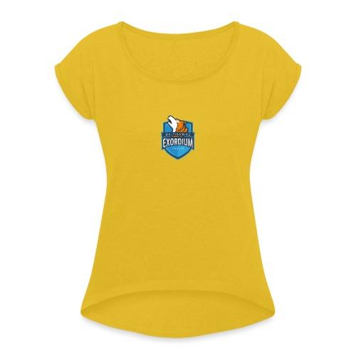 Emc. - Frauen T-Shirt mit gerollten Ärmeln