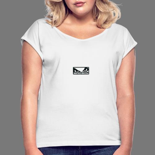 Produkty BadBoy - Koszulka damska z lekko podwiniętymi rękawami