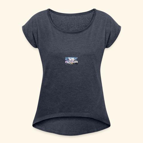 GIMS - T-shirt à manches retroussées Femme