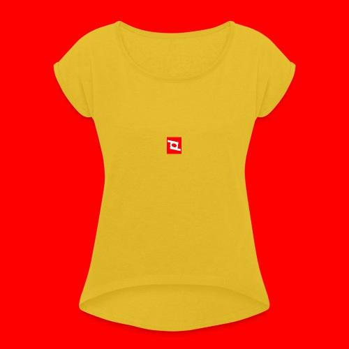 pd 90 - Dame T-shirt med rulleærmer