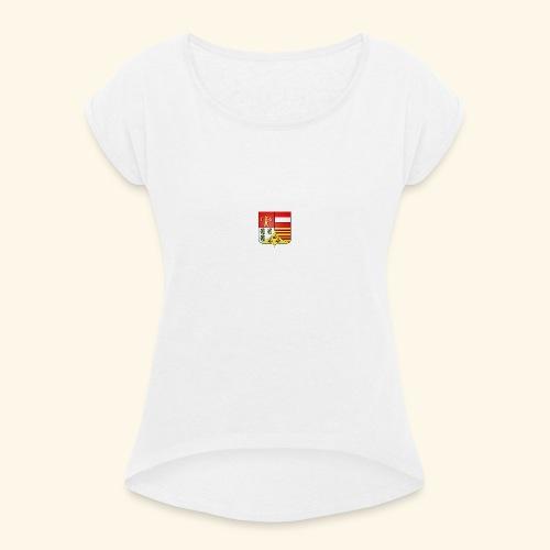 Blason ville de Liege - T-shirt à manches retroussées Femme