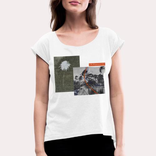 "THE HONEYMOON IS OVER"" VANGSGAARD & WORSOE - Dame T-shirt med rulleærmer"