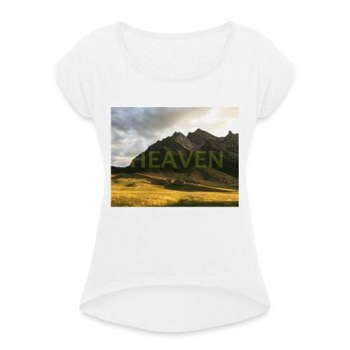 HEAVEN - T-shirt à manches retroussées Femme