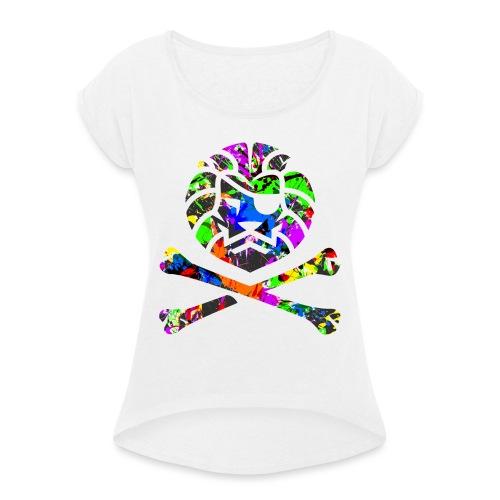 Team Anish - T-shirt à manches retroussées Femme
