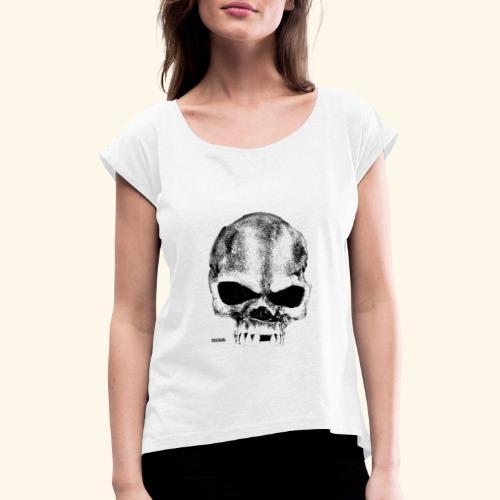 Crane - T-shirt à manches retroussées Femme