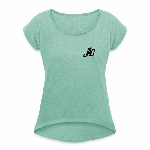 Jenna Adler Designs - T-shirt med upprullade ärmar dam