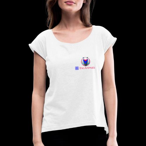 Safe the Animals Kollektion - Women's T-Shirt with rolled up sleeves