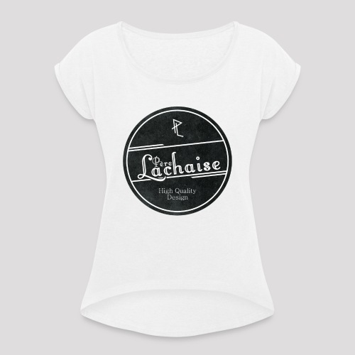 Père Lachaise - T-shirt - Female - Frauen T-Shirt mit gerollten Ärmeln