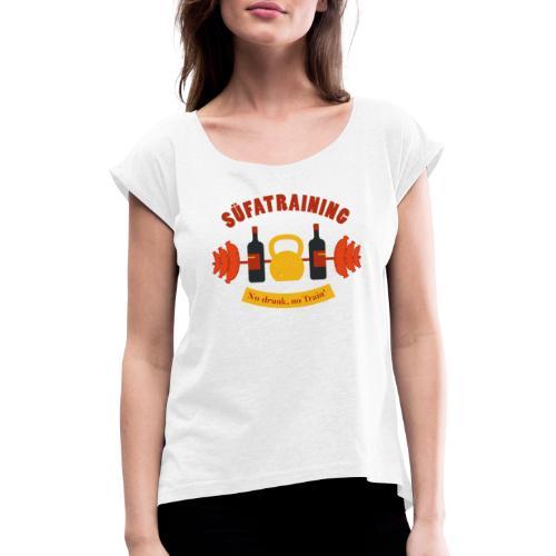 SüfaTraining couleur - T-shirt à manches retroussées Femme