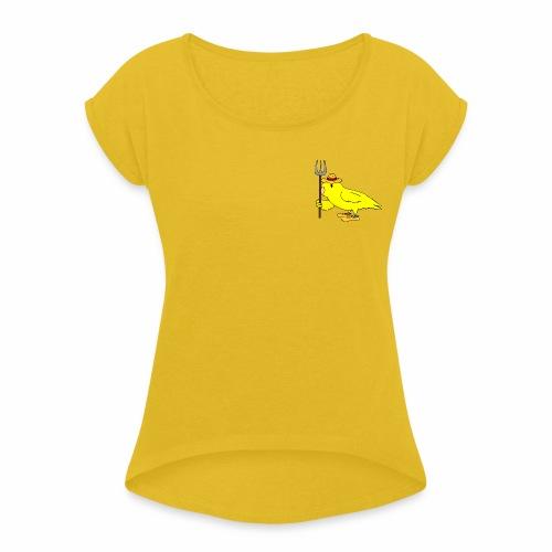 boerpepper - Vrouwen T-shirt met opgerolde mouwen