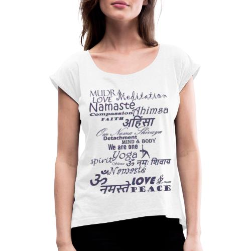 We are one - Women's T-Shirt with rolled up sleeves