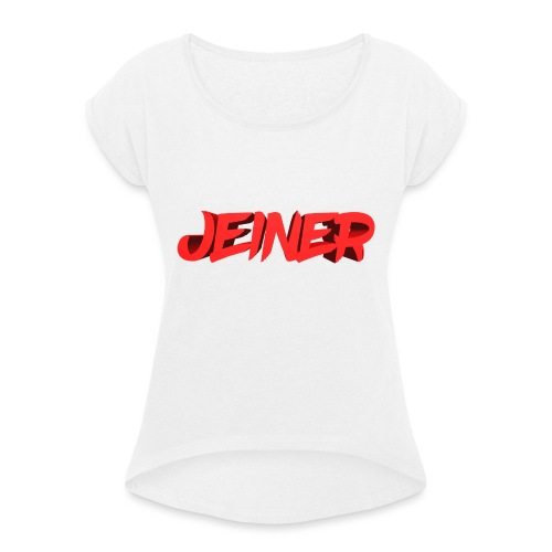 Jeiner 3D - Dame T-shirt med rulleærmer