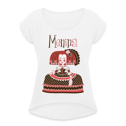 MENINA - Camiseta con manga enrollada mujer