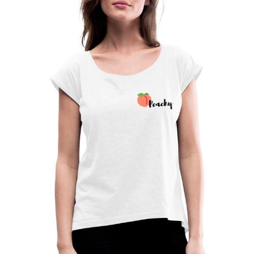 Copie de Copie de Cul d enfer 2 copie - T-shirt à manches retroussées Femme