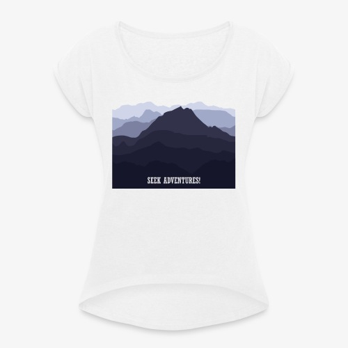 seekadventures - Women's T-Shirt with rolled up sleeves