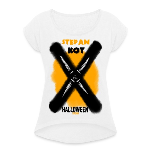 HALLOWEEN Edition - Women's T-Shirt with rolled up sleeves