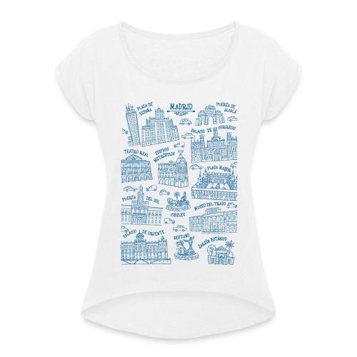 MADRID MONUMENTAL - Camiseta con manga enrollada mujer