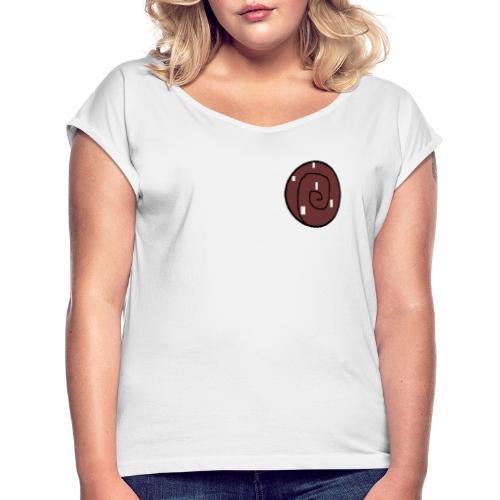 Bulle (ny) - T-shirt med upprullade ärmar dam