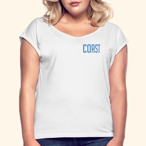 Coast - Frauen T-Shirt mit gerollten Ärmeln