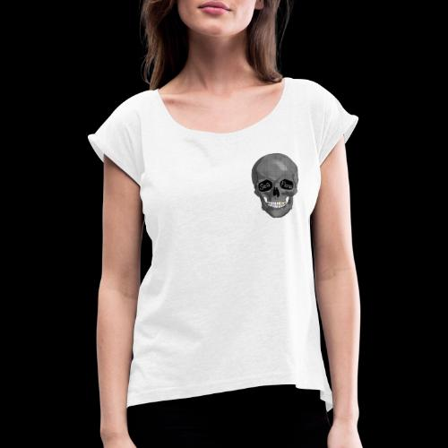 teschio SeaFlow collezione AFTERLIFE - Maglietta da donna con risvolti