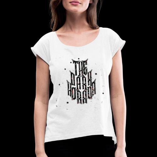 Style Bullet - T-shirt à manches retroussées Femme