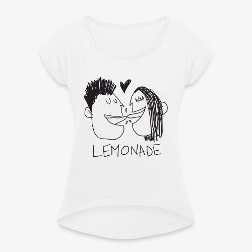 Lemonade Kiss - Maglietta da donna con risvolti