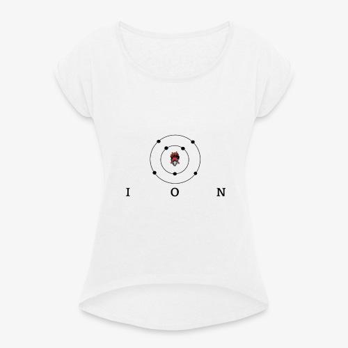 logo ION - T-shirt à manches retroussées Femme