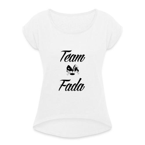 Team Fada - T-shirt à manches retroussées Femme