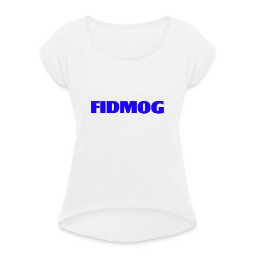 ROYAL KING - Frauen T-Shirt mit gerollten Ärmeln