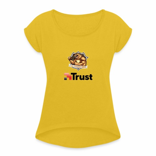 Prodotti Ufficiali con Sponsor della Crew! - Maglietta da donna con risvolti