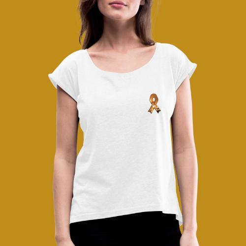STOP WILDFIRES - Camiseta con manga enrollada mujer